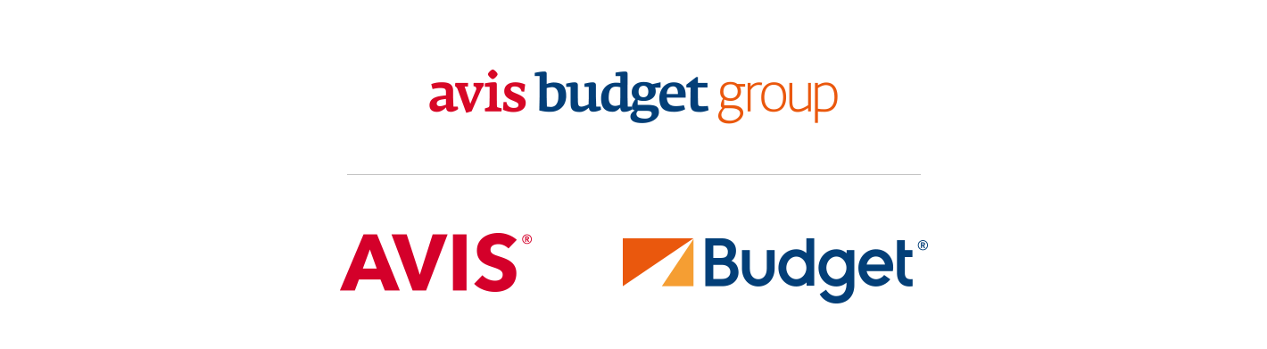 avis budget group and avis and budget logos