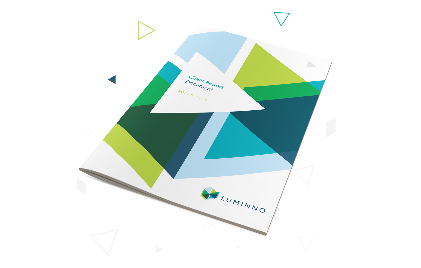luminno client report printed document