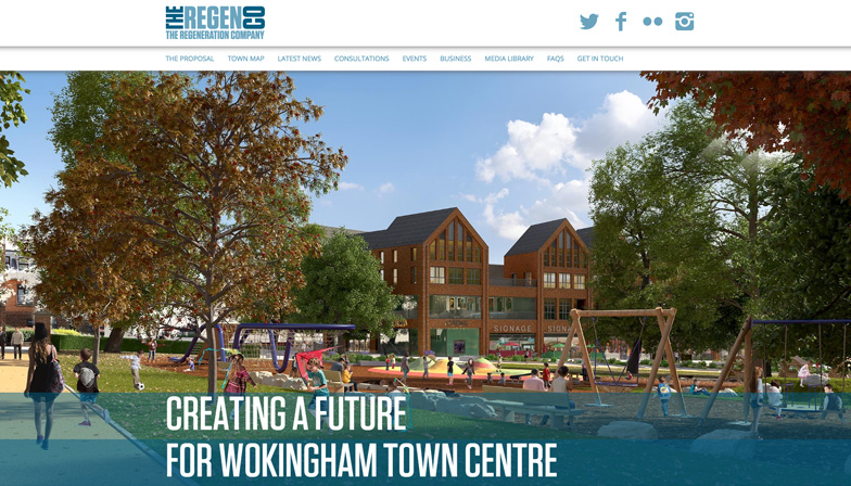 the regeneration company website homepage